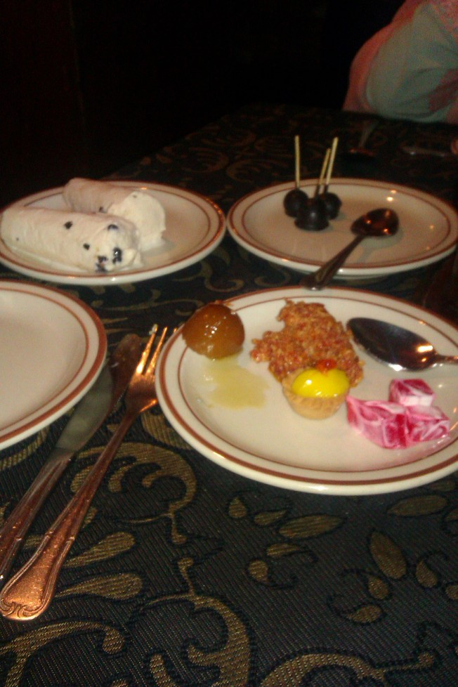 Desserts. Perfect way to end a meal.