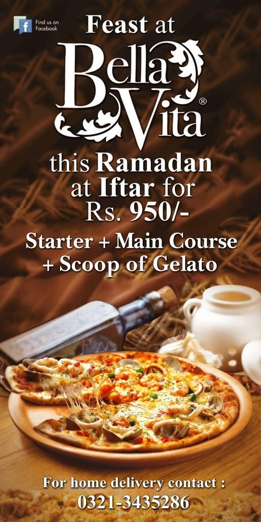 Bella Vita Ramazan offer