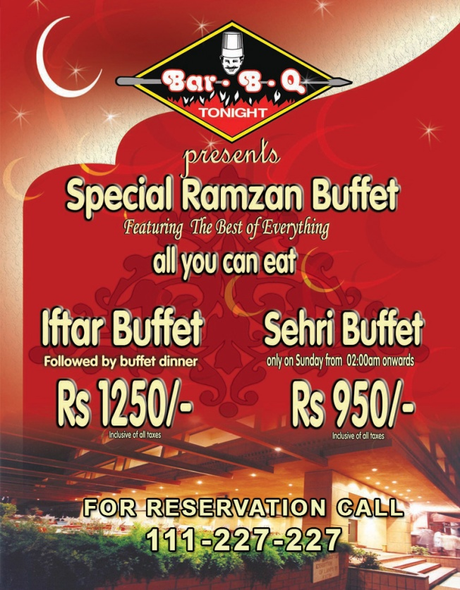 BBQ Tonight Ramazan deal