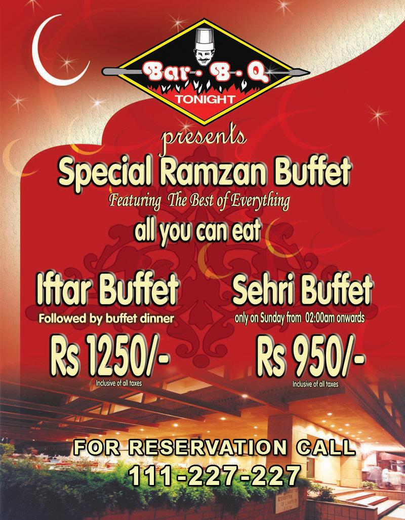 BBQ Tonight Ramazan deal