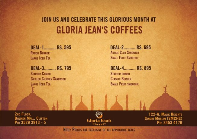 Ramazan offer from Gloria Jeans