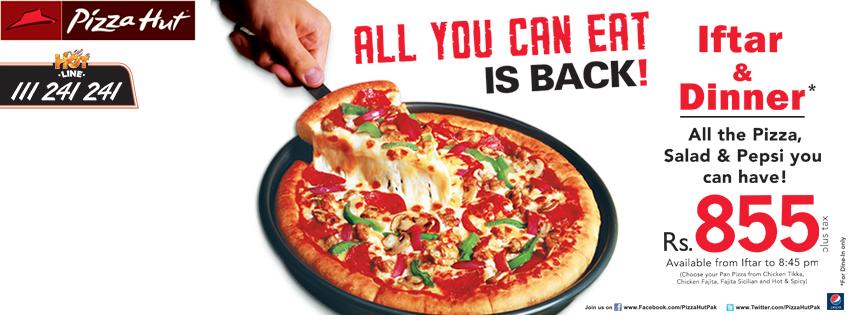 Deals at pizza hut karachi