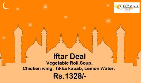 Iftar deals in karachi sidra rizvi says iftar deal at arizona grill stopboris Gallery