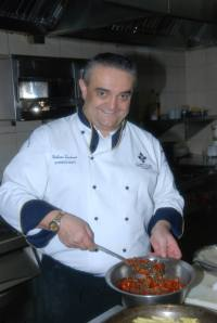 Italian Chef Giuliano Tassinari (picture courtesy Pitch Media Inc)